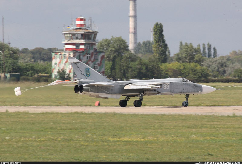Su-24 N83-001