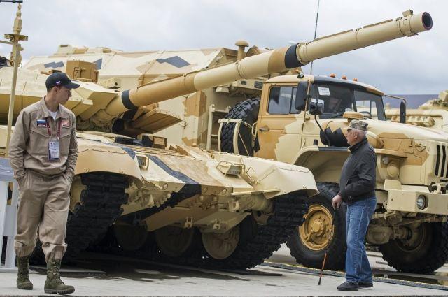 Россия поставит Ираку крупную партию танков Т-90