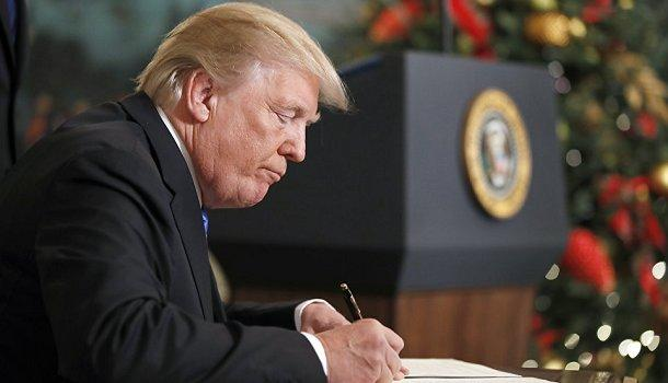 Трамп отправил американцев на Луну и Марс