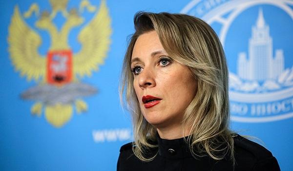 Захарова рассказала, чем отв…