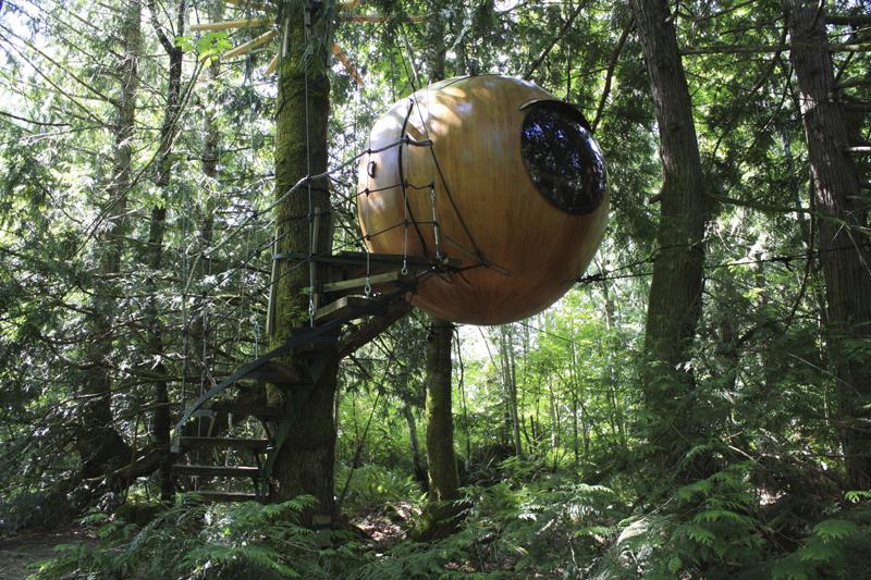 10 безумных домов, бросающих вызов гравитации