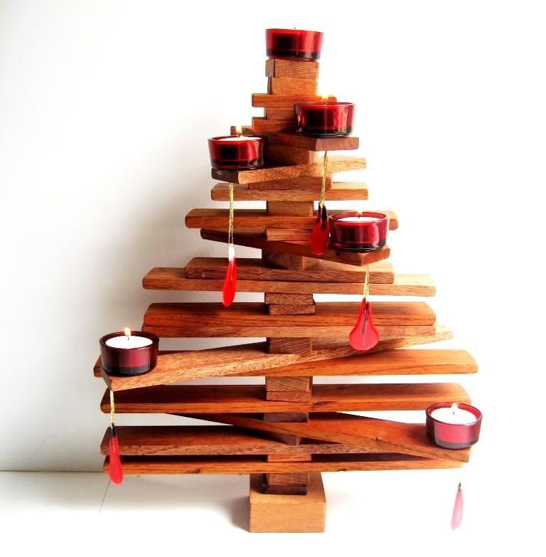 Как сделать елку из досок