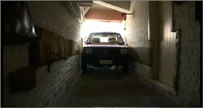 Самый маленький гараж