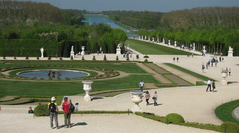 Сады и парк Версаля (Франция) интереснее, чем сам Версальский дворец. достопримечательности, интересное, фотографии