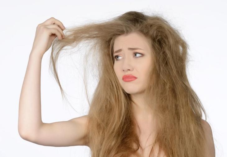 Повышенная сухость волос