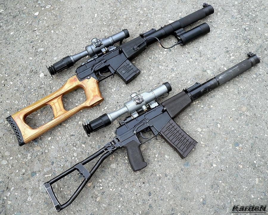 Ближайшие родственники: снайперская винтовка ВСС «Винторез» и специальный автомат АС «Вал» (http://k-a-r-d-e-n.livejournal.com) - Без шума и пыли | Военно-исторический портал Warspot.ru