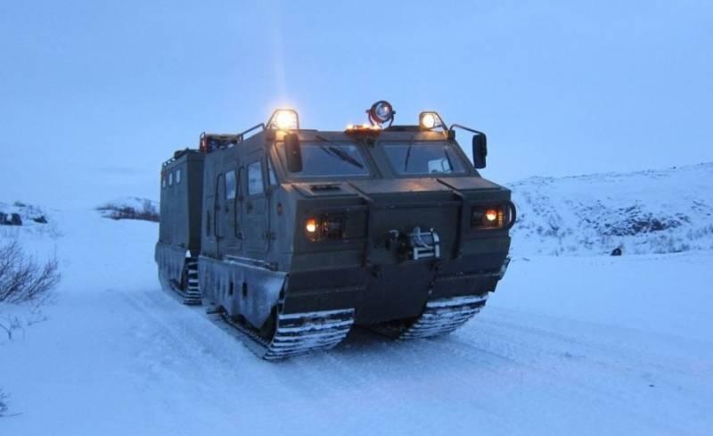В РФ перезапустят госиспытания арктического вездехода ДТ-3ПМ