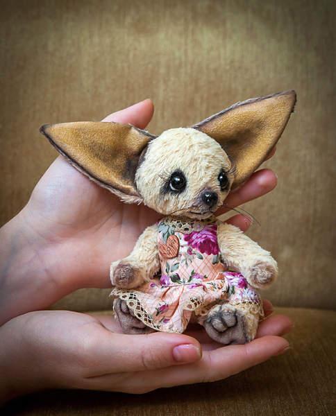 Милые винтажные игрушки от Yumi Camui
