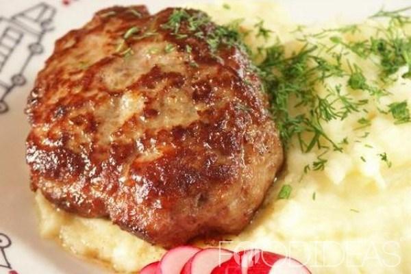 Котлеты из говяжьего и свиного фарша рецепт