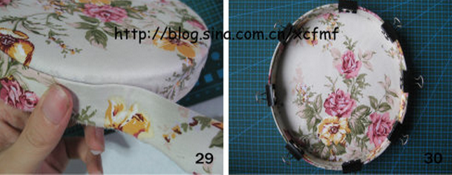 Круглые шкатулки своими руками из картона и ткани