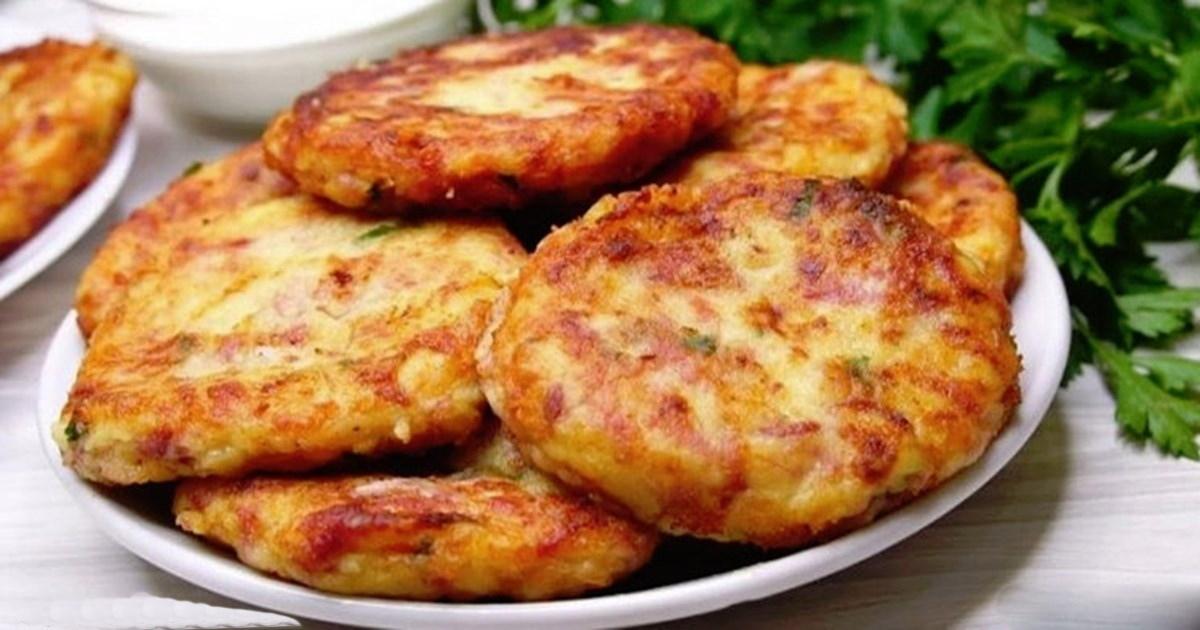 Картофельные шницели: Их все едят, едят и не могут оторваться