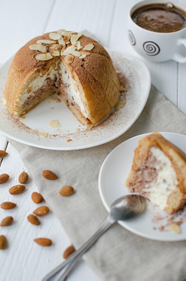 ДЕСЕРТНЫЙ ВИХРЬ. Тосканский десерт - Дзукотто (Zuccotto)