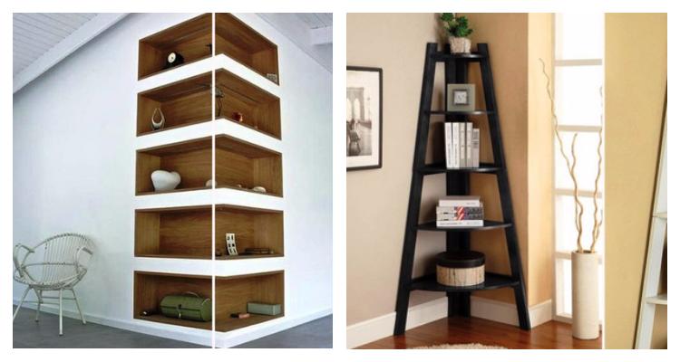 11 отличных идей, как использовать пространство в углах дома с пользой…