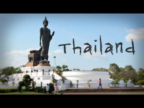 Таиланд - таймлапс в движении