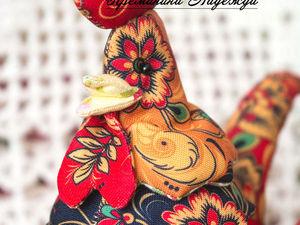 Шьём симпатичного петуха — символ 2017 года | Ярмарка Мастеров - ручная работа, handmade