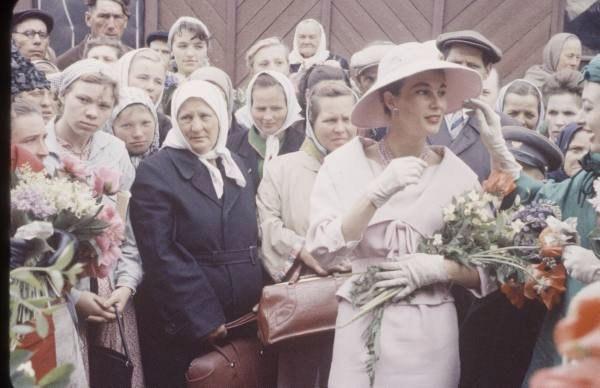 Christian Dior впервые в Москве, 1959 год