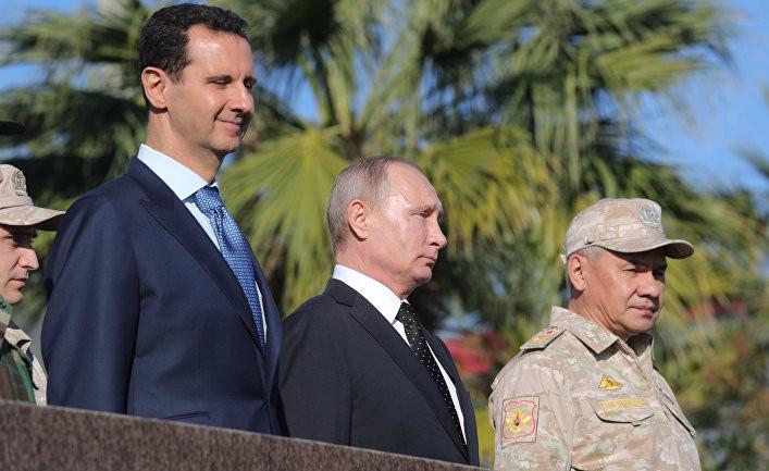 Зачем Путин пришел в Сирию