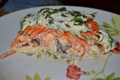 ТОП - 5 популярных салатов