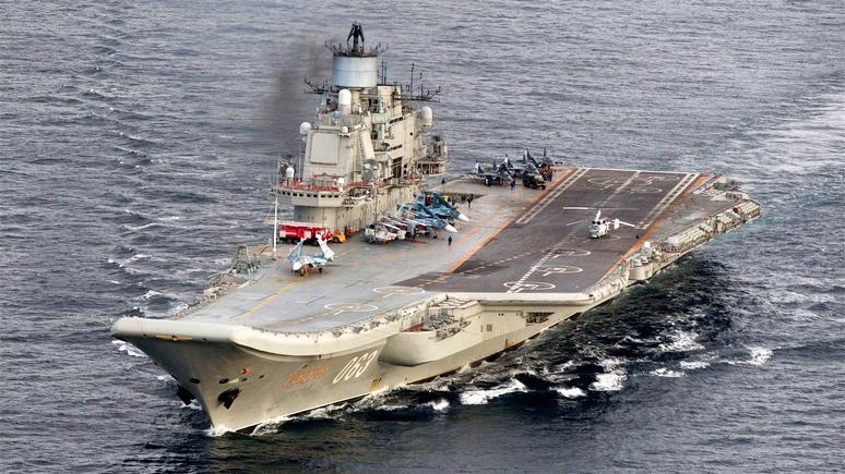 Немцы злорадствуют: За три недели «плавучий гроб» простился с двумя истребителями ВКС РФ