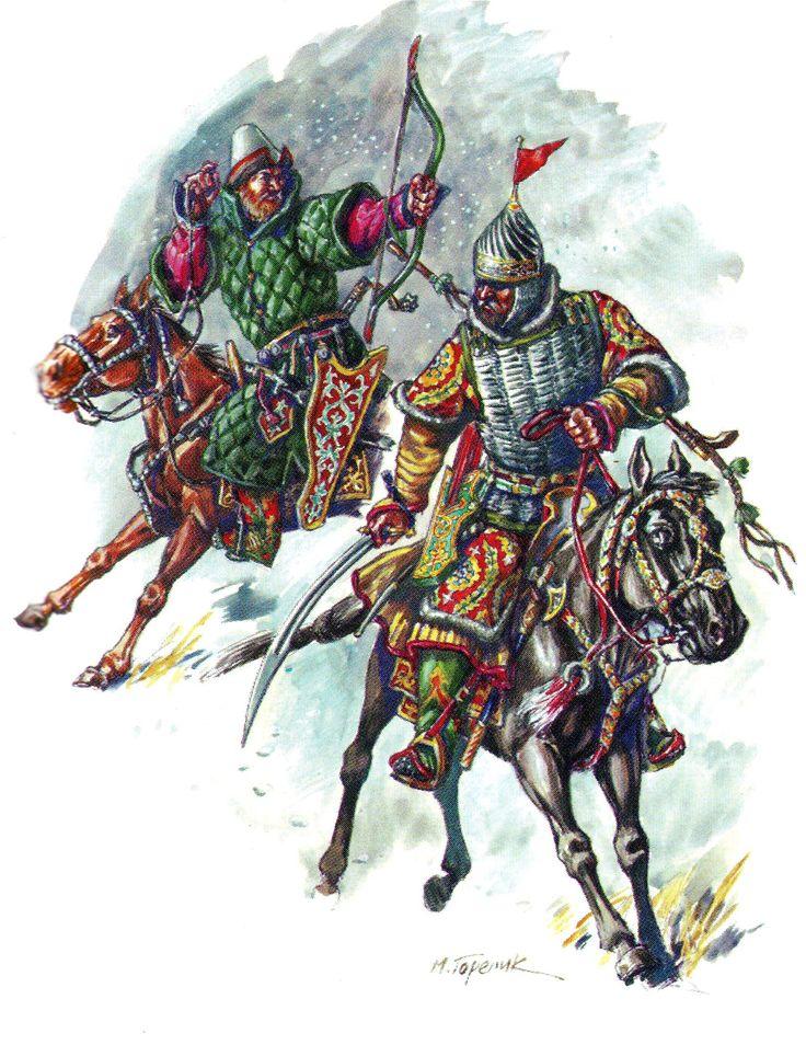 """""""И смутиша силу новгородчкую"""" - Битва под Русой (3 февраля 1456 г.)"""