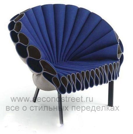 самодельное кресло из паласа