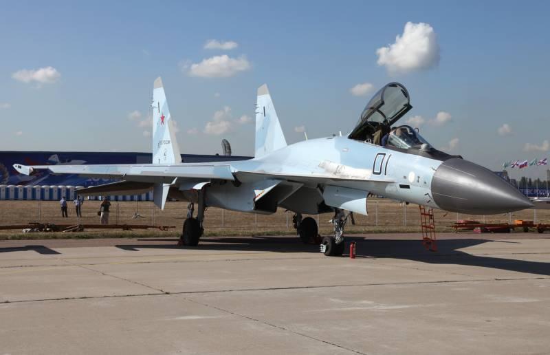 КнААЗ в этом году поставит военным 10 истребителей Су-35С