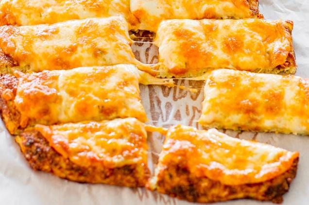 Невероятно вкусная пицца из цветной капусты. Вкусно и полезно!
