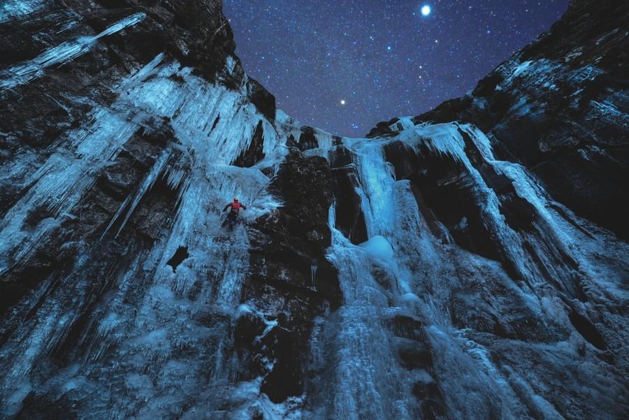 30 фото замороженных водопадов