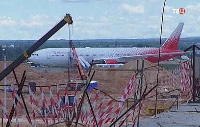 """Новый терминал аэропорта """"Симферополь"""" откроют через год"""