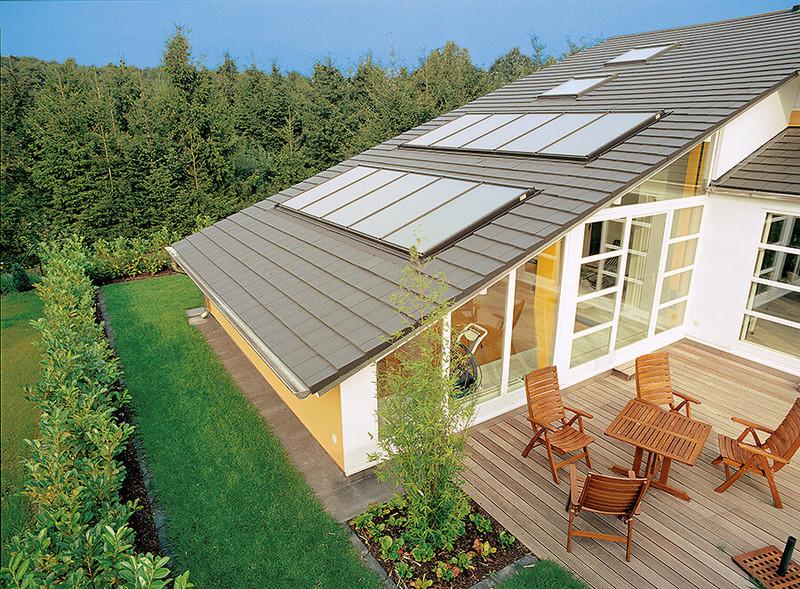 Пассивные и активные солнечные системы отопления