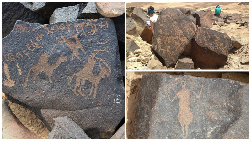 Археологи обнаружили в иорданской пустыне тысячи древних петроглифов