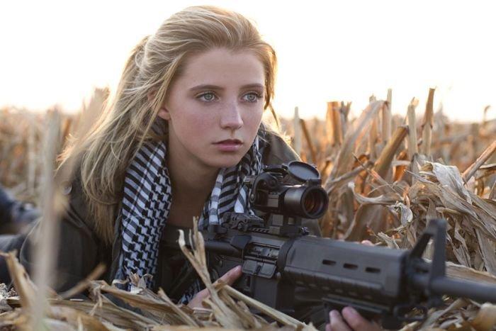 WDpic.ru - Девушка и оружие