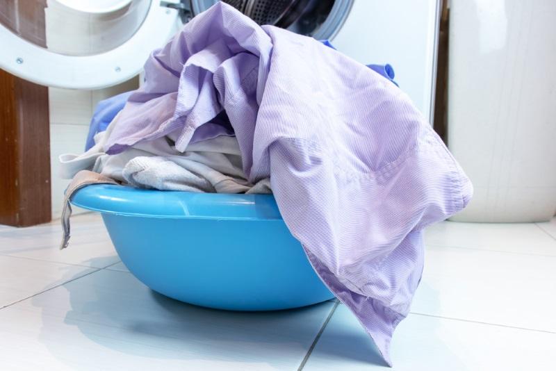 стирка шторки для ванной