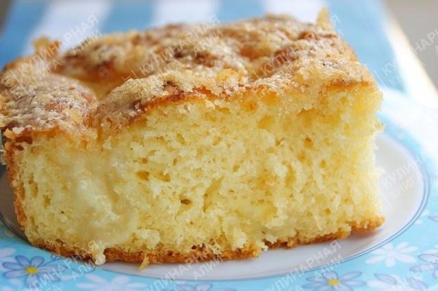 Рецепт пирог из сливок