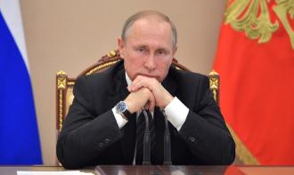Британские СМИ изобразили на обложках Путина монстром