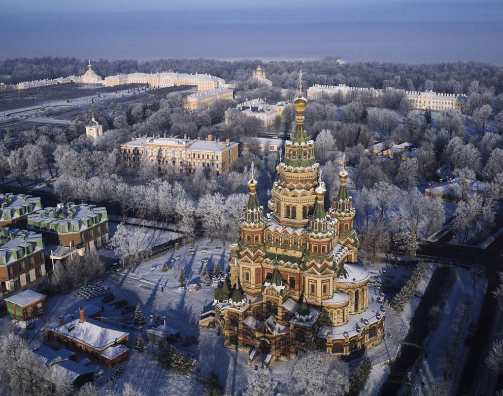 SPBFromAbove08 Санкт Петербург   вид сверху