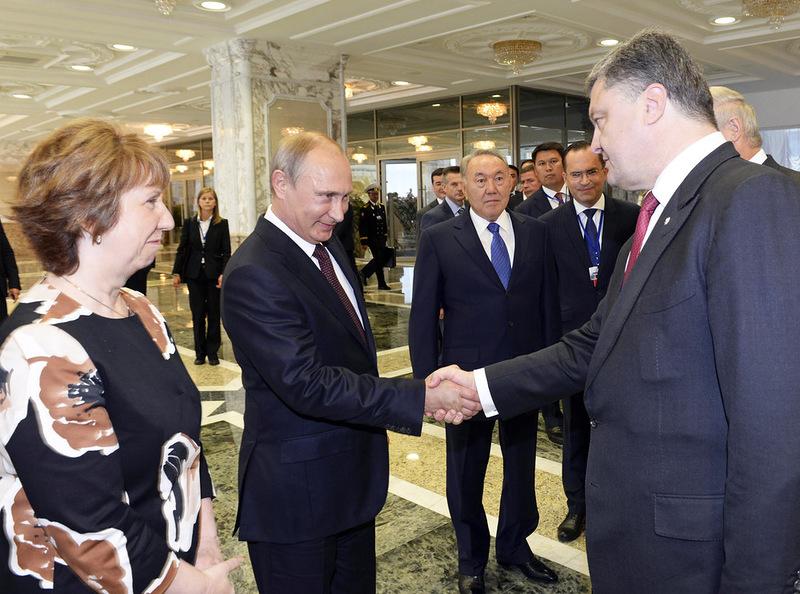 Минский Путин - расшифровка жестов