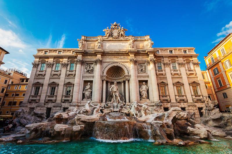 Фонтан Треви, Рим, Италия город, достопримечательность, интересное, мир, подборка, страна, фонтан, фото