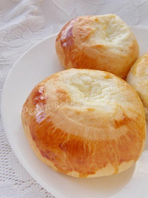 Рецепт ватрушка со сметаной пошагово