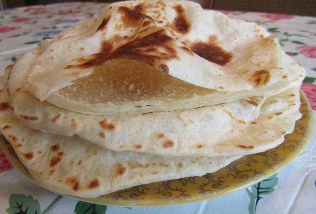 Фото к рецепту: Пита на сковороде