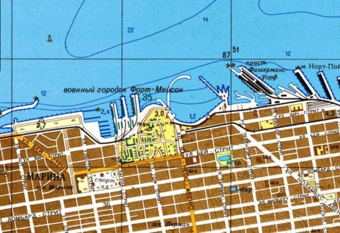 Американцы опубликовали книгу с советскими картами США, поражающими своей детализацией. И никаких Google maps не надо