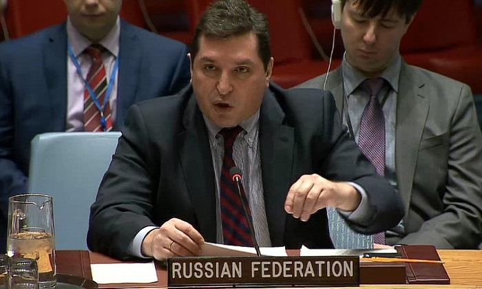"""Не отводи глаза"", - Сафронков осадил представителя Британии при ООН"