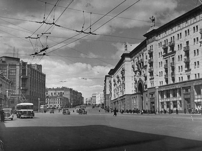 Москва летом 1941 года ссср, москва