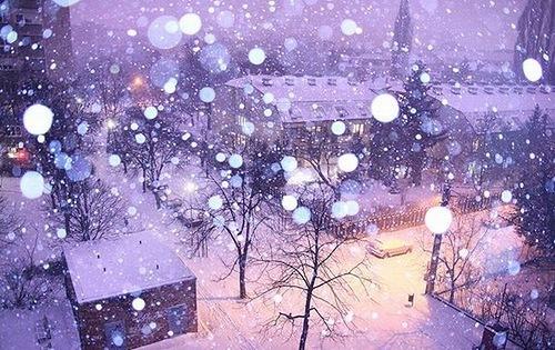 И падал снег...