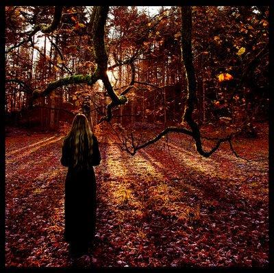 Девушка поздняя осень картинки