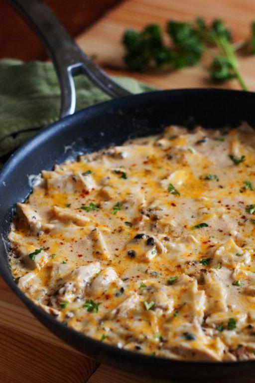 Куриная грудка на сковороде со сметаной: вкусные рецепты