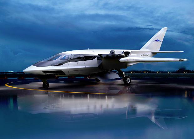 Американцы создадут гибридный частный самолет с вертикальным взлетом