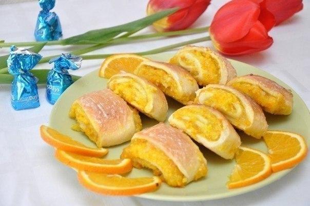 Мягкие апельсиновые печенья: детский восторг!