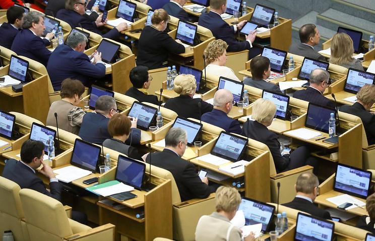 Госдума поддержала повышение МРОТ до уровня прожиточного минимума с 1 мая 2018 года