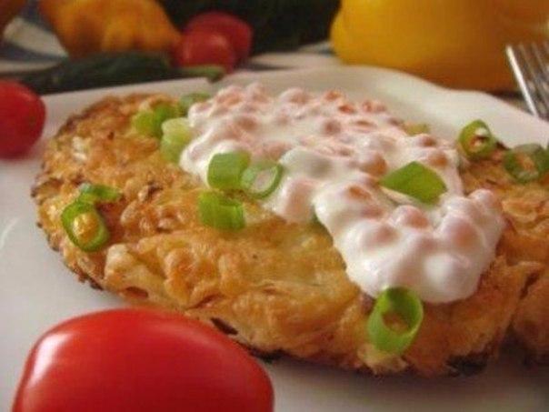 Надоели сладкие блинчики! Попробуйте такой вариант — Капустный блинчик к завтраку!
